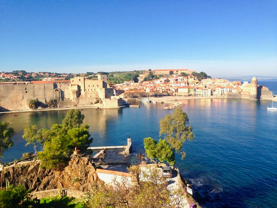the village of Collioure near Spain