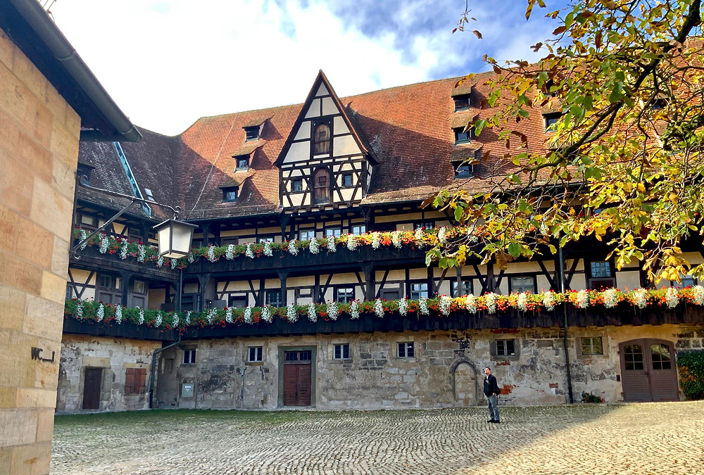 Alte Hofhaltung, the Old Courtyard in Bamberg
