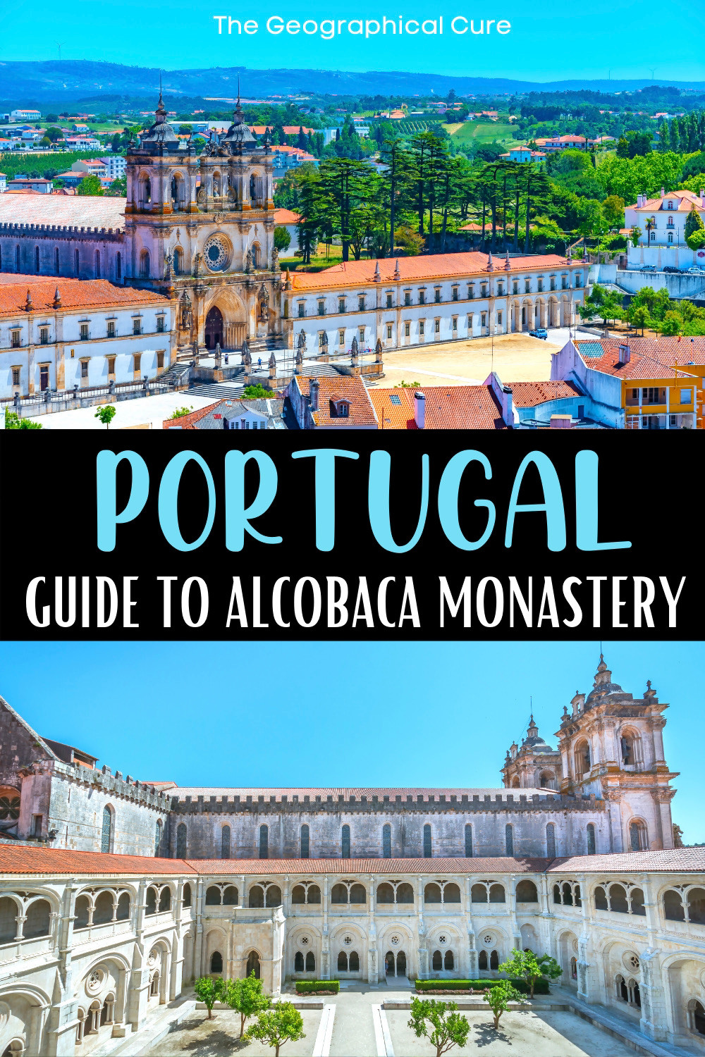 guide to Alcobaca Monastery, a beautiful must see landmark in Portugal