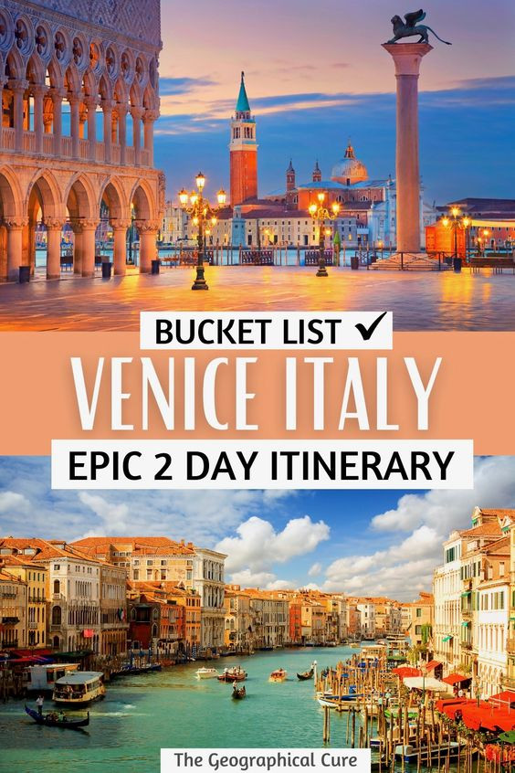 the ultimate guide to spending two perfect days in Venice Italy