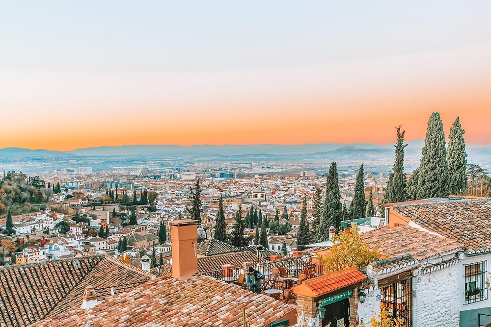 another view from the Mirador de San Nicolás