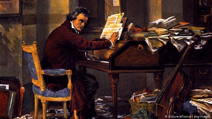Carl Schloesser, Beethoven, circa 1890