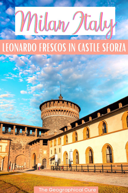 guide to Leonardo's Sala delle Asse fresco in Milan Italy