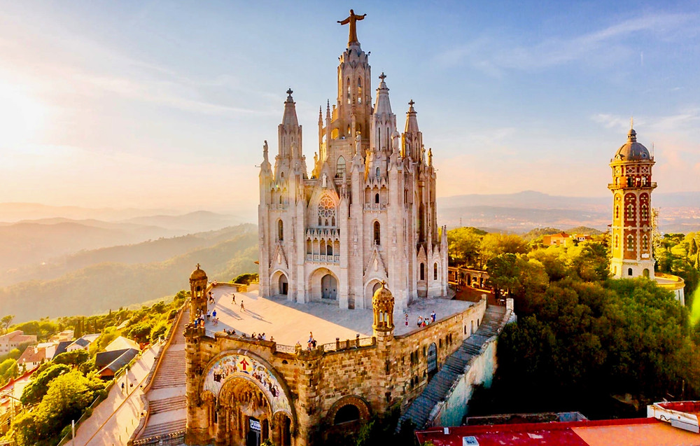 Temple of the Sacred Heart of Jesus at Tibidabo