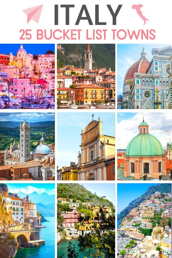 25 Pretty Bucket List Towns in Italy