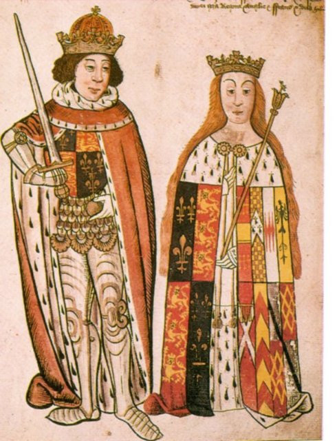 the coronation of King Richard III and Queen Anne