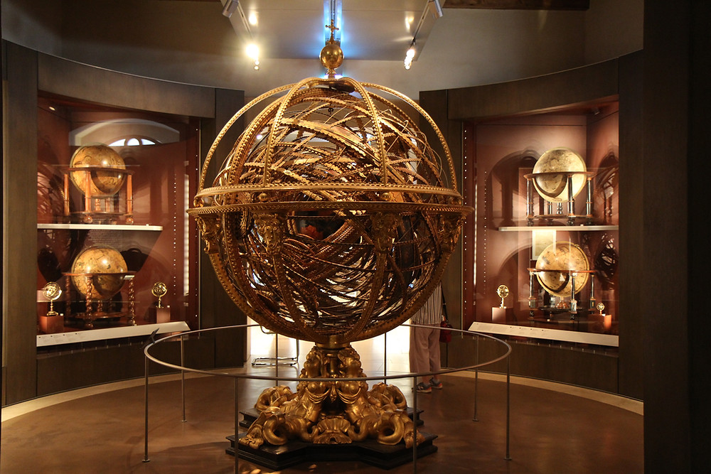 globes in the Galileo Museum
