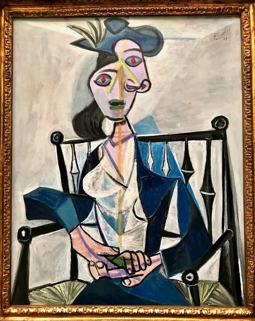 Pablo Picasso, Dora Maar, 1941 -- on display at the Munich Pinakothek der Moderne