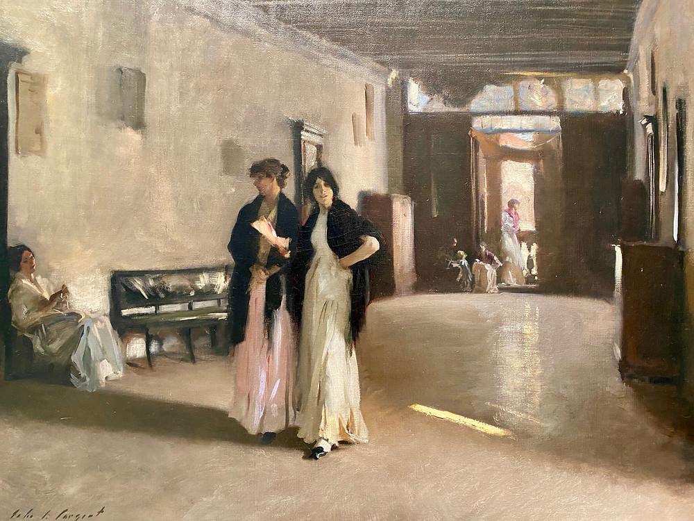 John Singer Sargent, Venetian Interior, 1880-82