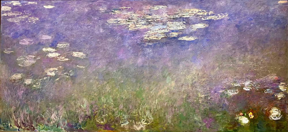 Monet water lilies at the Cleveland Museum of Art