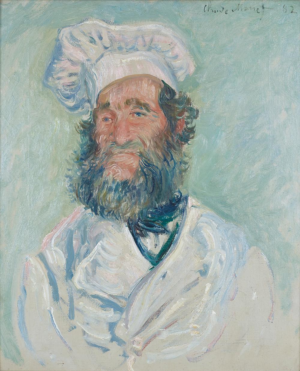 Claude Monet, The Chef, 1882