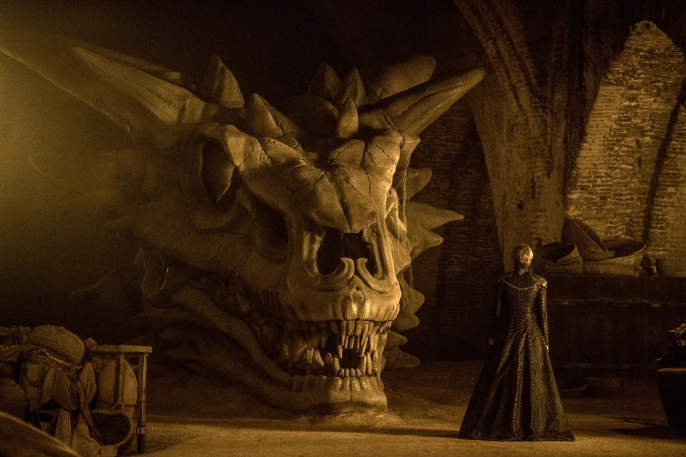Cersei in the Royal Shipyards