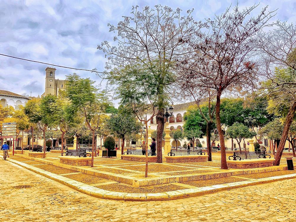 Plaza Mayor in Osuna Spain