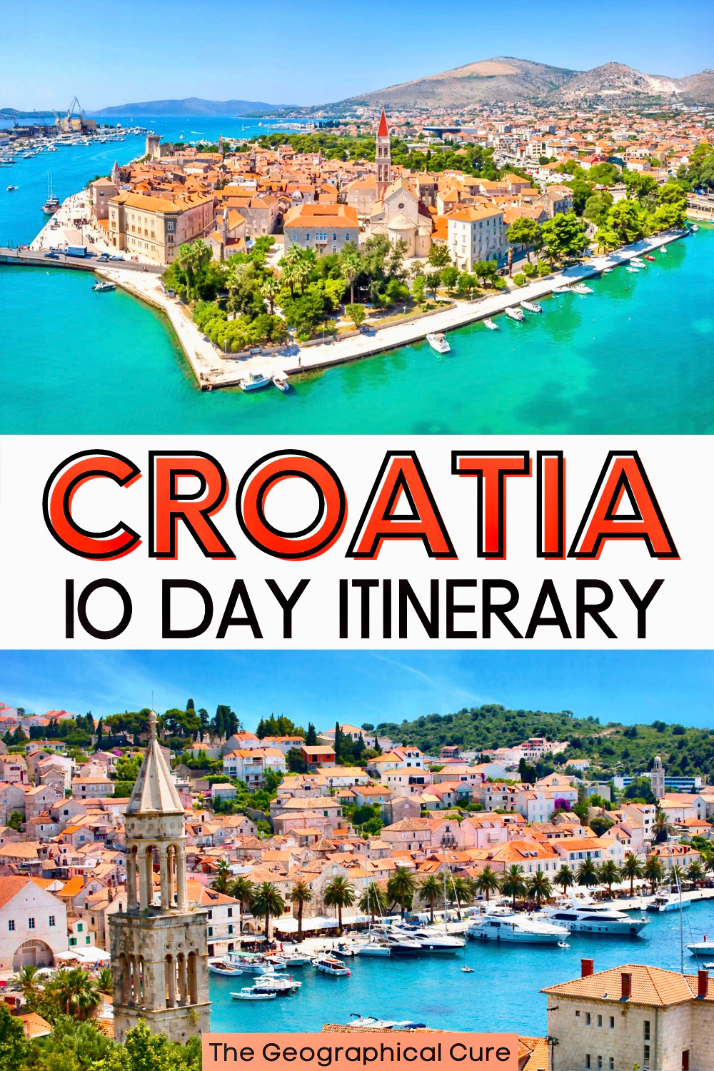 ultimate 10 day itinerary for Croatia
