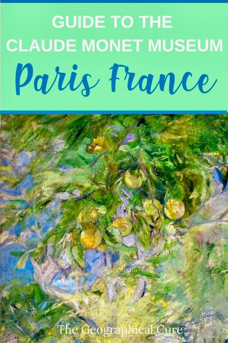 Guide to the Monet Museum in Paris