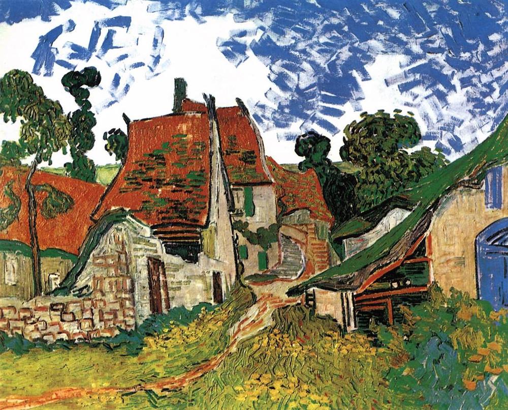 Vincent van Gogh, Village Street in Auvers,1890