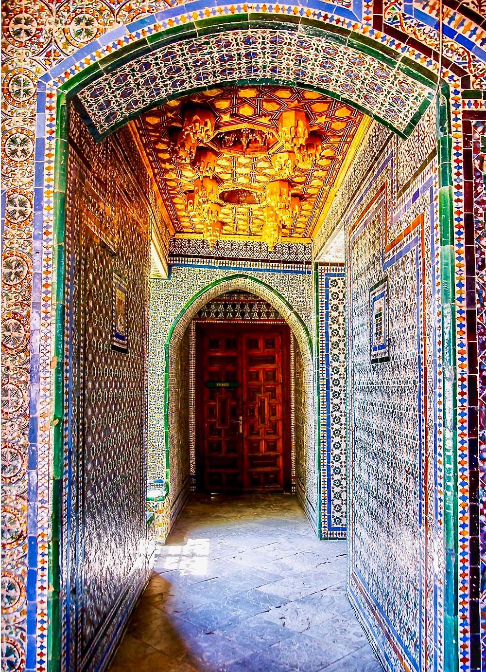 the Praetor's Room at Casa de Pilatos