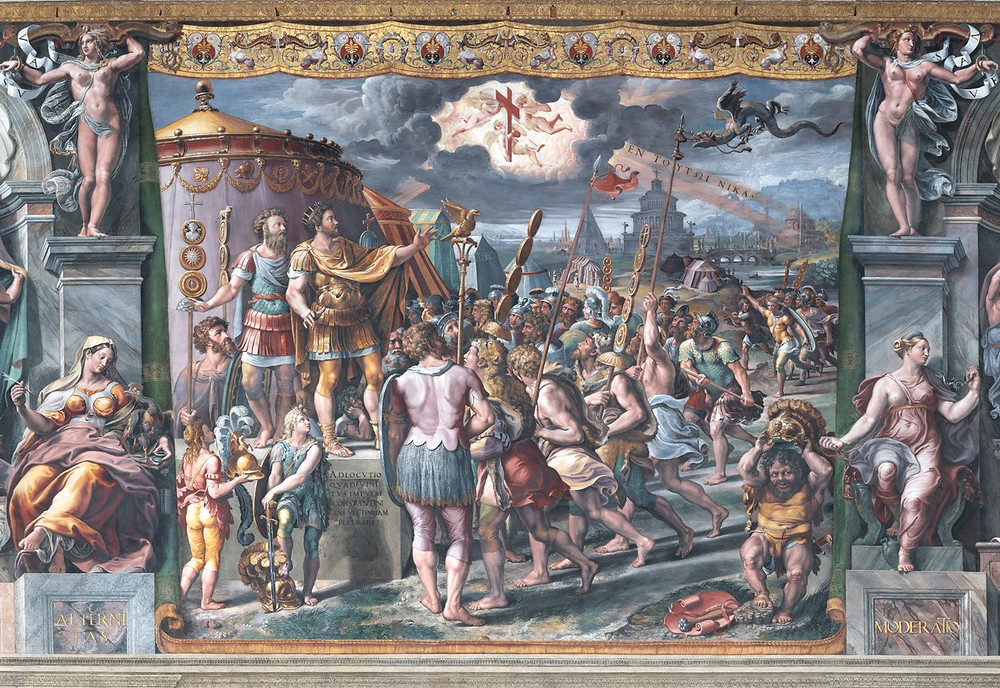 Raphael and Workshop, Vision of the Cross, 1520-24