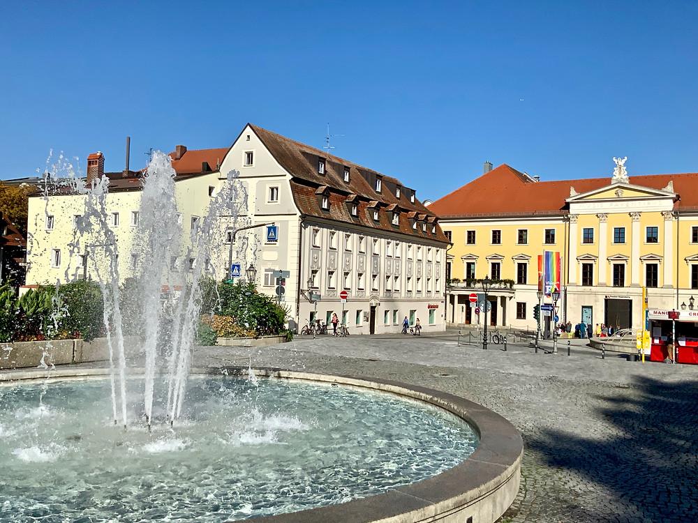 Bismarck Square in Regensburg
