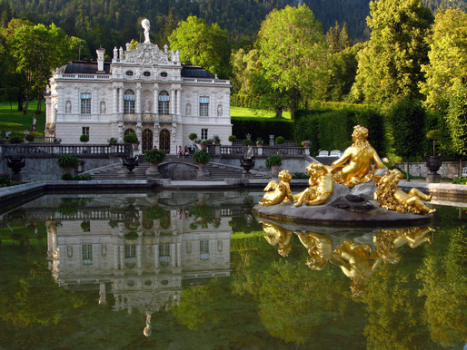 Linderhof Palace in Bavaria: Moon King Channels Sun King