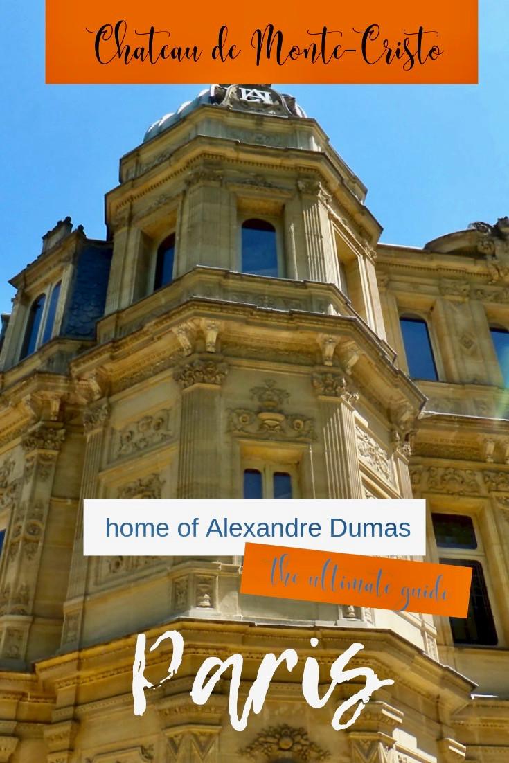 Alexandre Dumas' Chateau de Monte Cristo Outside Paris