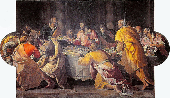 Allesandro Allori, The Last Supper, 1584-87