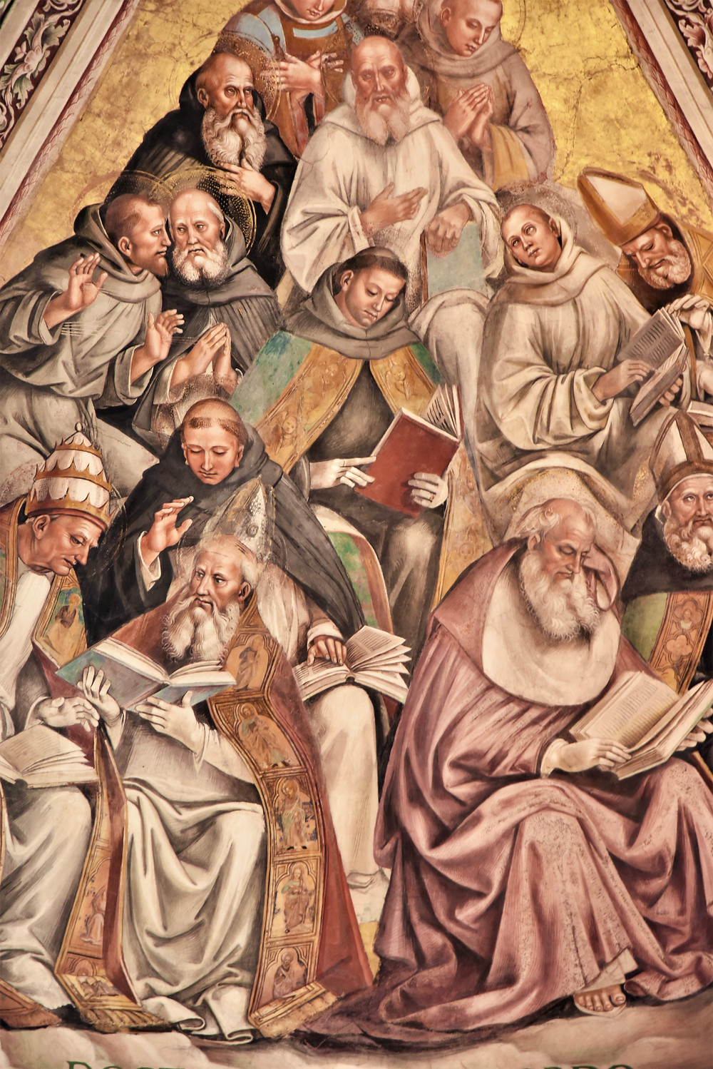 Detail of the Fresco of the Patriarchs by Luca Signorelli