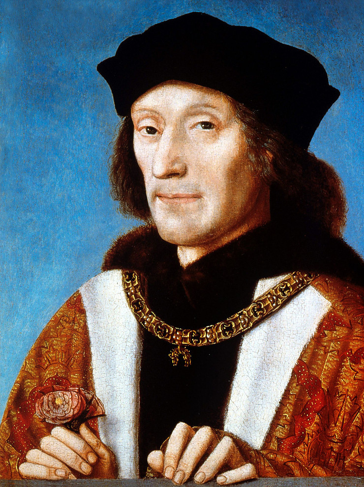 King Henry VII by Unknown Netherlandish artist oil on panel, 1505