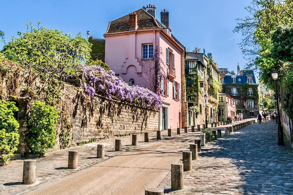 Rue de l'Abreuvoir in Montmartre