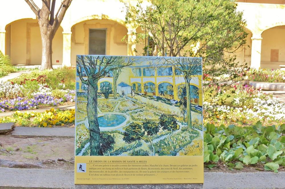 L'Espace van Gogh in Arles in the Provence region of France