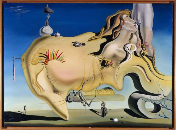 Salvador Dali, Face of the Great Masturbator, 1929