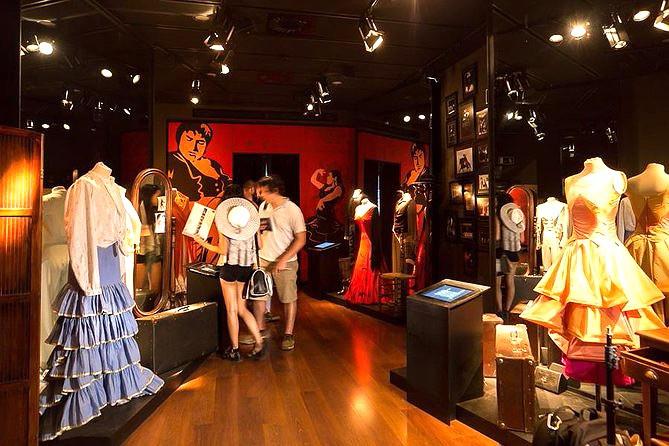 costumes in the Flamenco Dance Museum