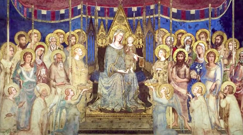 Simoni Martini, Maesta, 1315-16