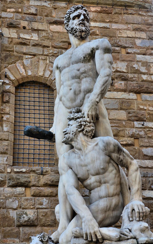 Bondinelli, Hercules and Cacus, 1534