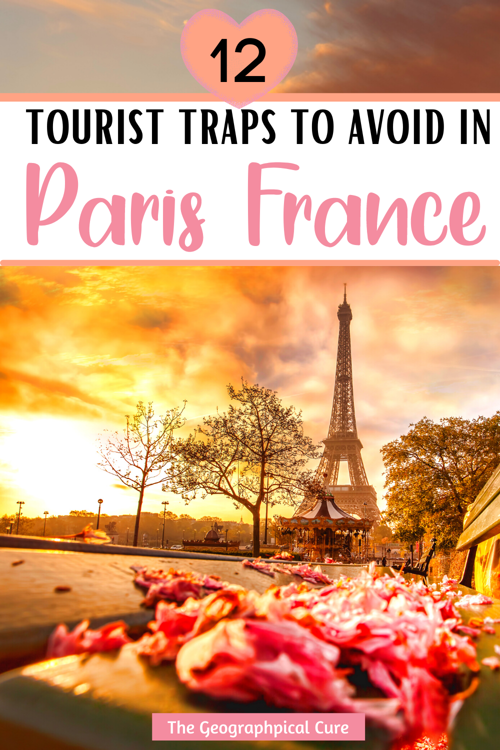 guide to the tourist traps to skip in Paris