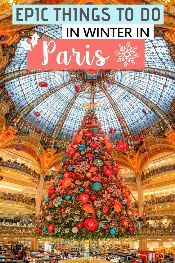 Amazing Things To Do In Winter In Paris