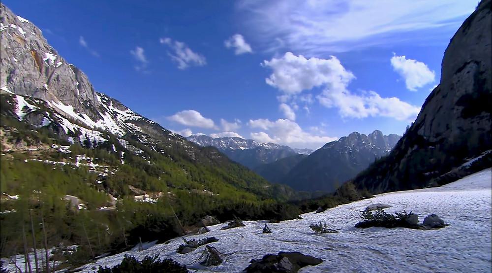 Julian Alps in Slovenia