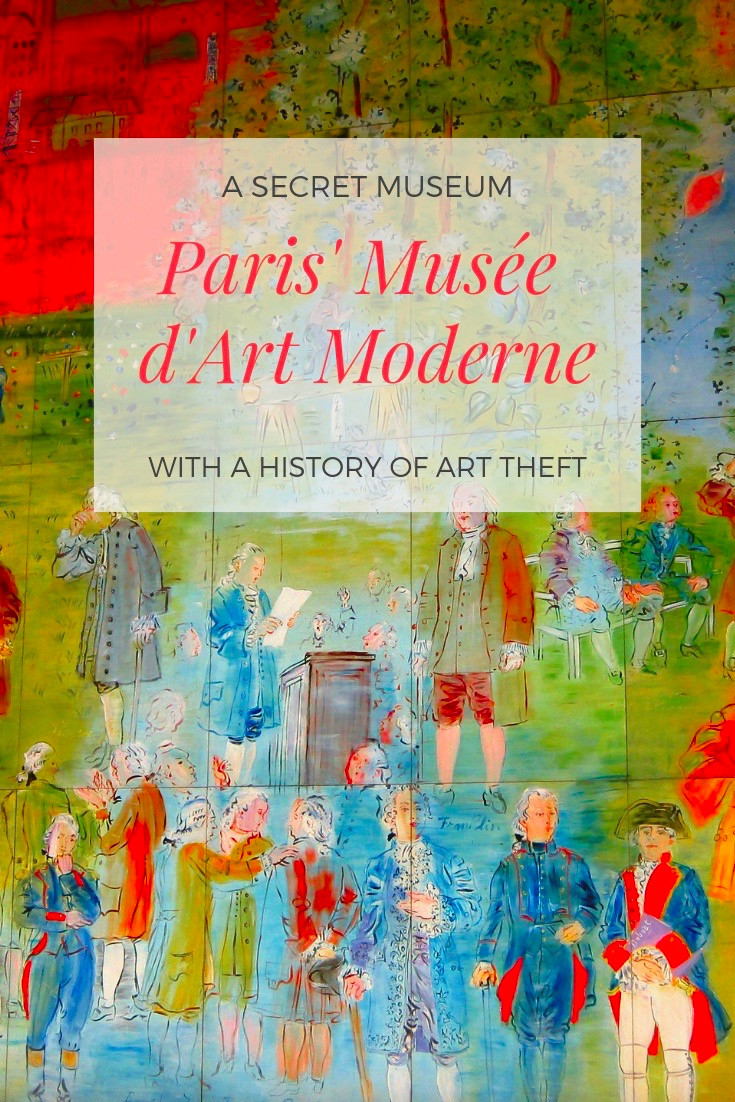 Paris' Musée d'Art Moderne, an amazing secret museum in Paris with an art heist history
