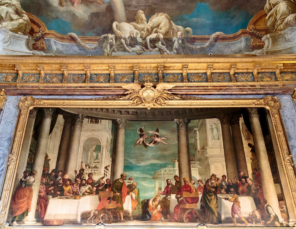 ceiling fresco in the Hercules Room