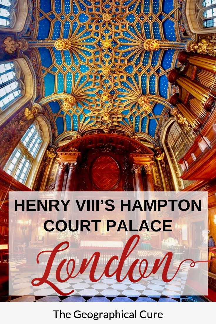 Henry VIII's Hampton Court Palace in London