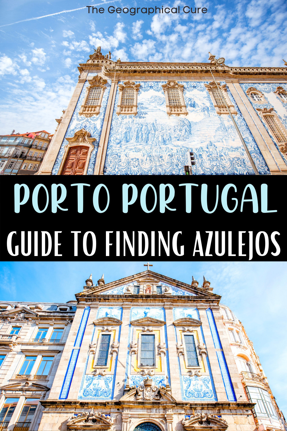 ultimate guide to the stunning azulejo tiles in Porto Portugal