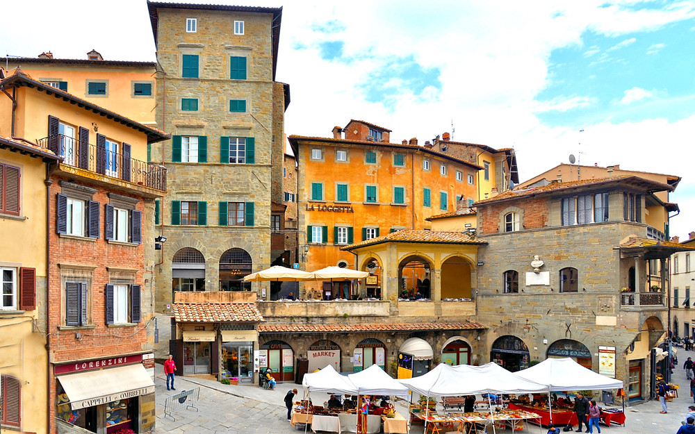 Cortona Italy, made famous by the book/movie Under the Tuscan Sun