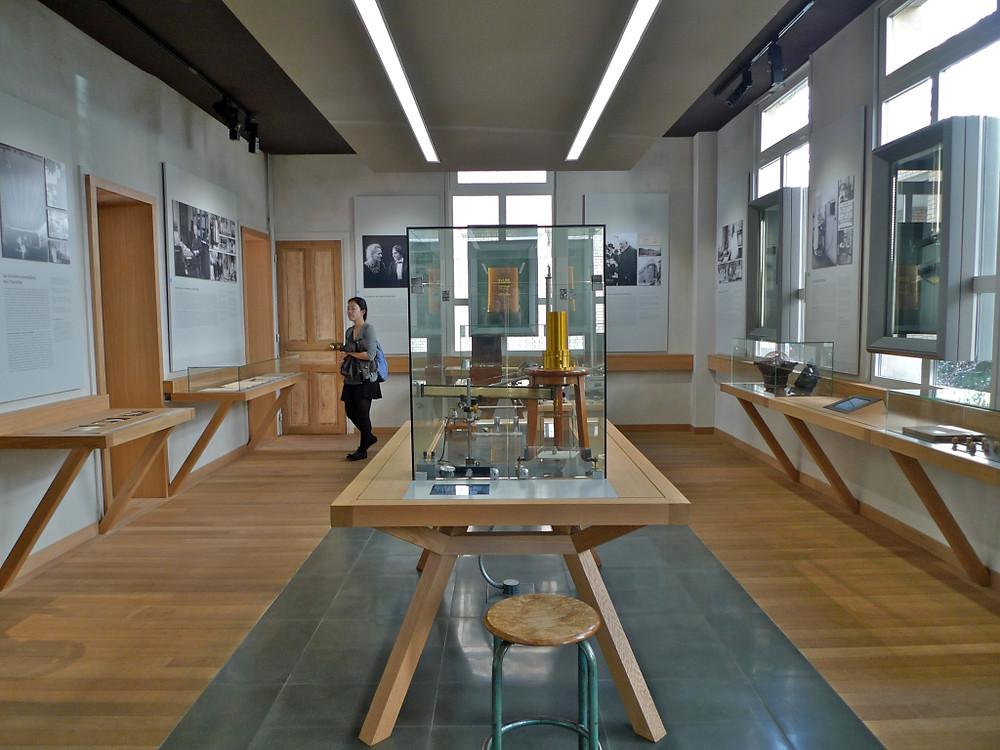 the Curie Museum in Paris