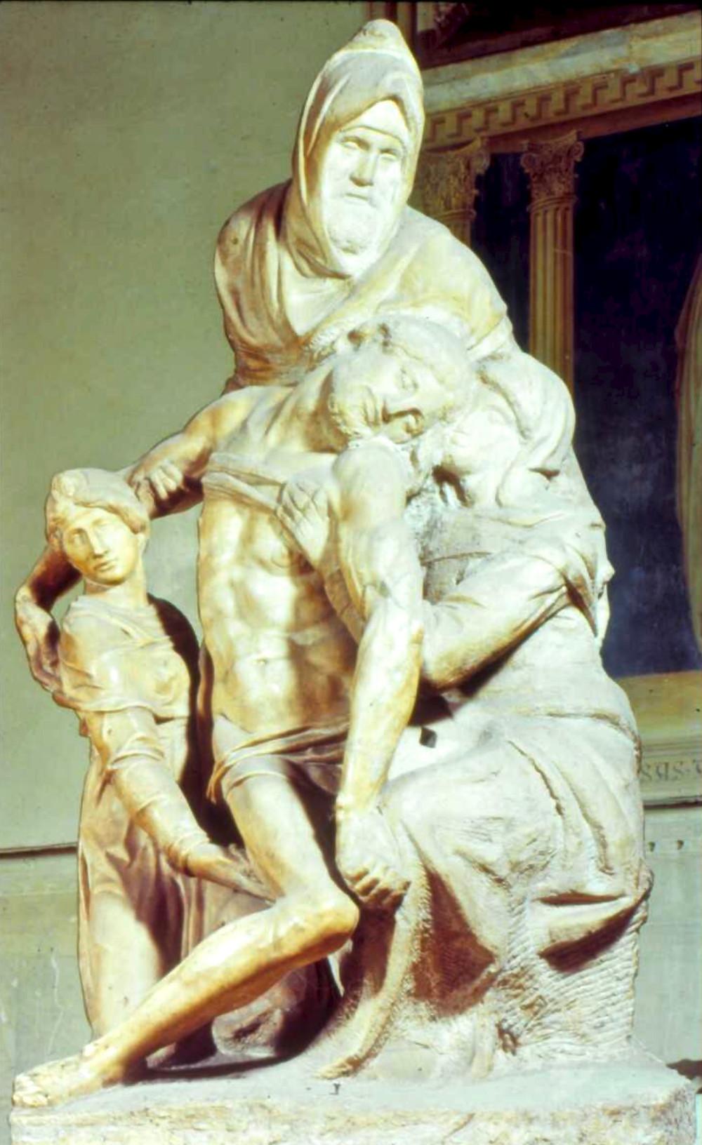 Michelangelo, Florentine Pieta, 1547-55