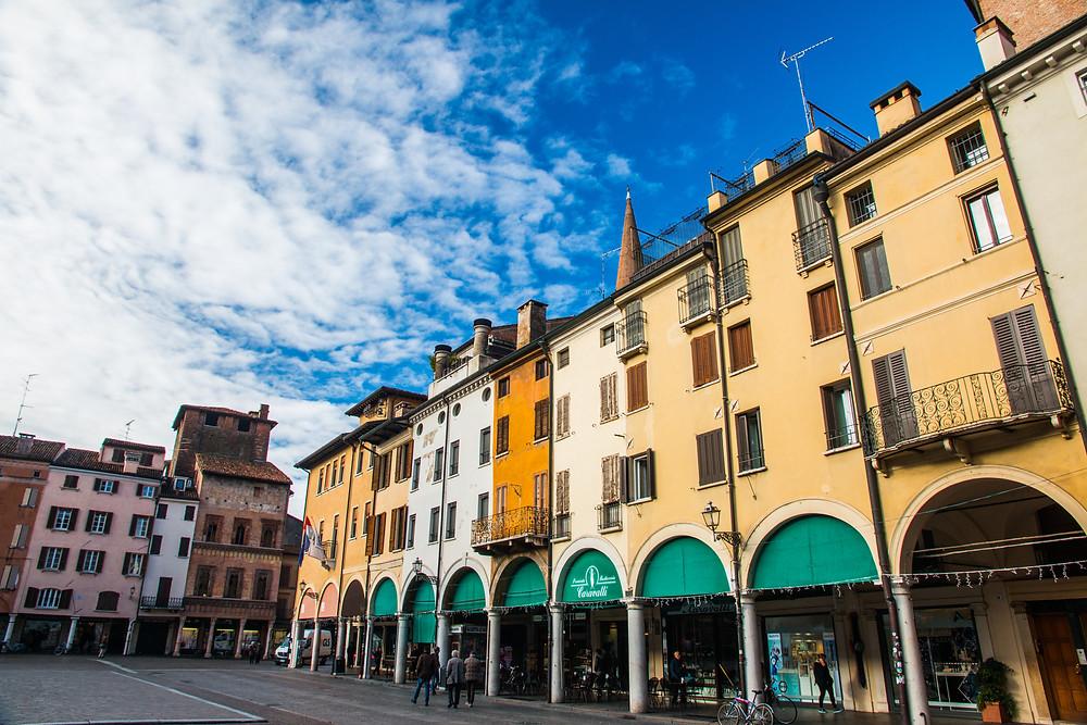 Piazza delle Erbe in Mantua