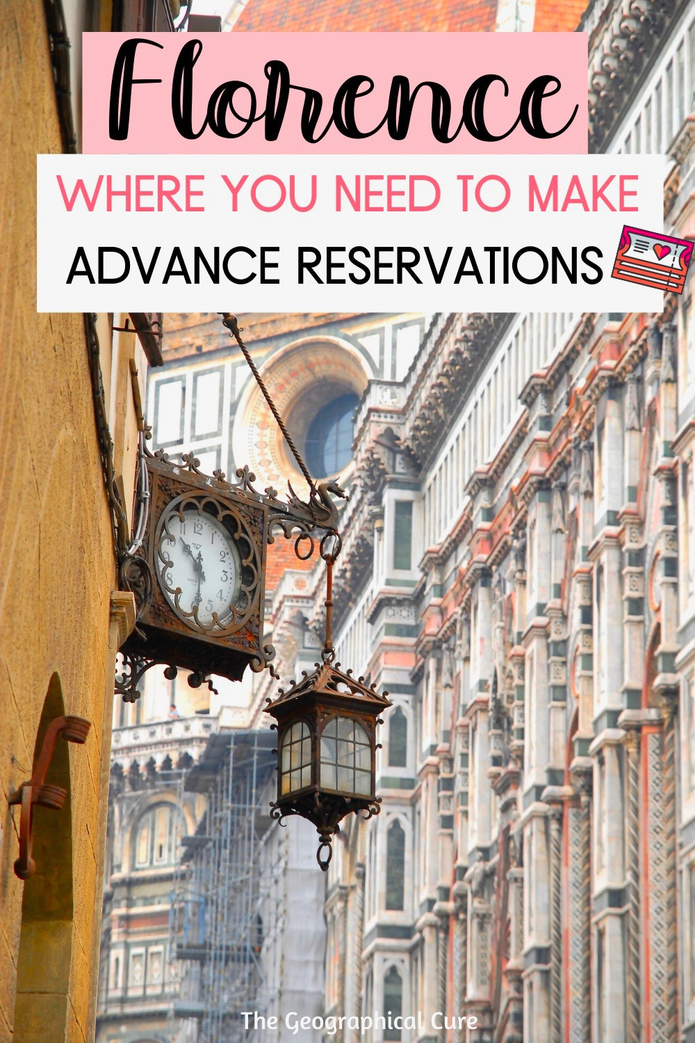 EWher eWhere You Need To Make Advance Reservations In Florence Italy