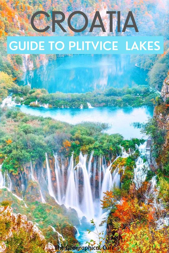 ultimate guide to Plitvice lakes Park in Croatia