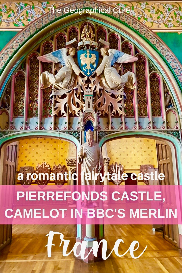 Pierrefonds Castle, an easy day trip from Paris and star of the BCC Show Merlin