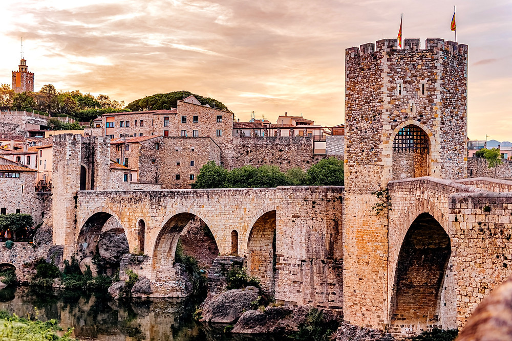 the medieval Bridge of Besalu