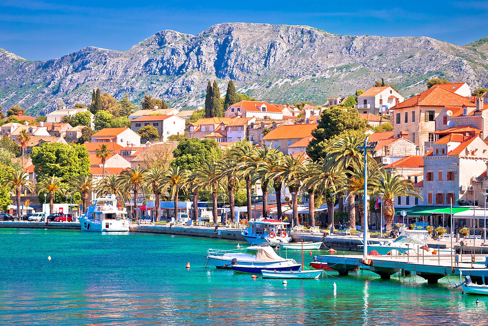 the pretty town of Cavtat